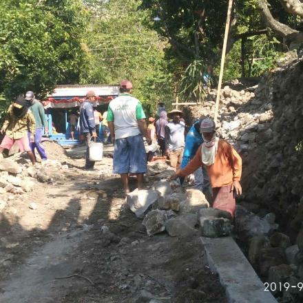 Pembangunan Secara Swakelola Wujud Pastisipatif Masyarakat Desa